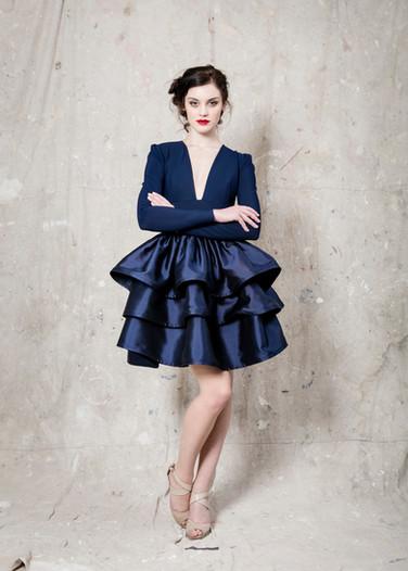 Navy Trixie Dress