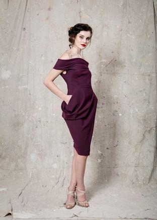 Plum Fischka Dress
