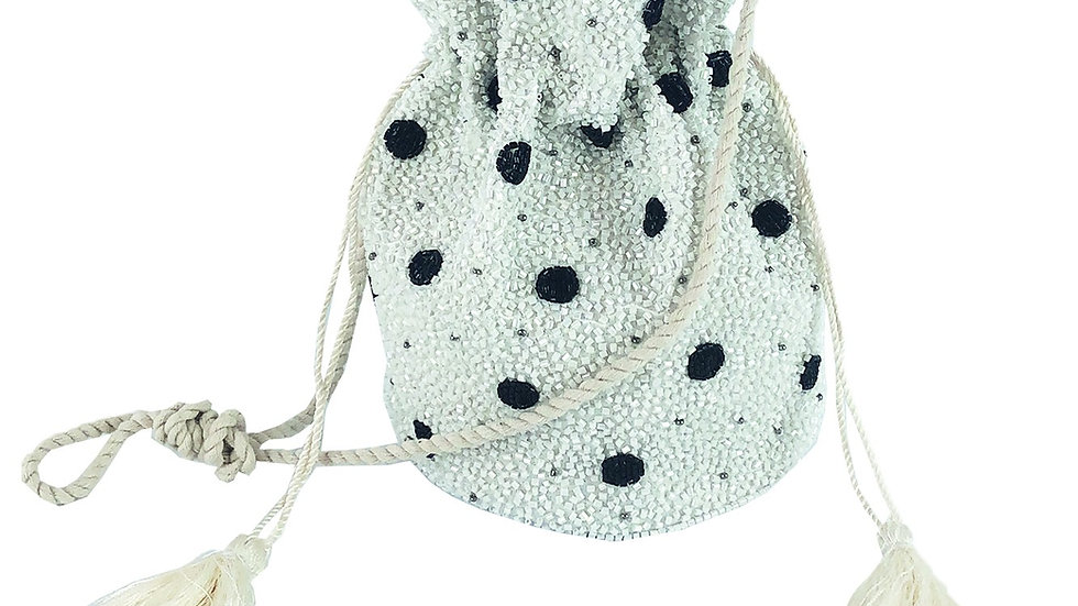 Go dotty embellished party bag
