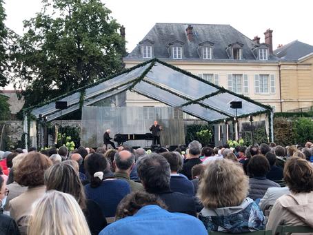 Depardieu chante Barbara au Potager du Roi