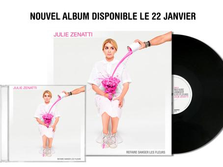 """Julie Zenatti - """"Refaire danser les fleurs"""""""