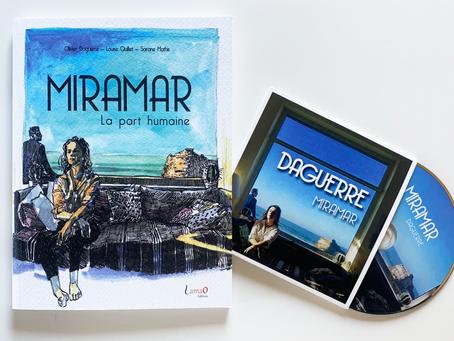 """Olivier Daguerre nous parle de son nouveau livre disque """"Miramar - La part Humaine"""""""