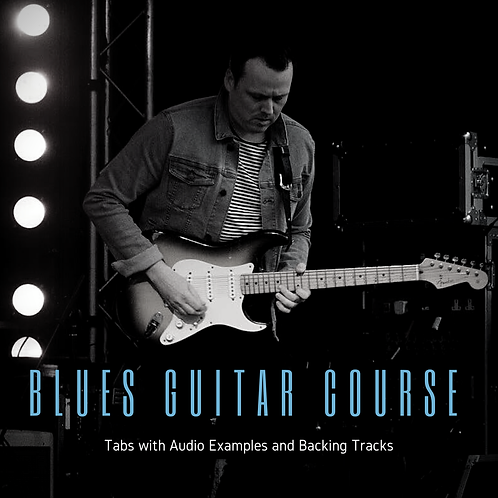 Blues Guitar Online Course