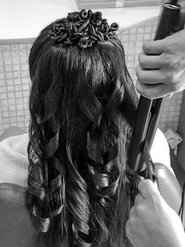 Peinado comunión