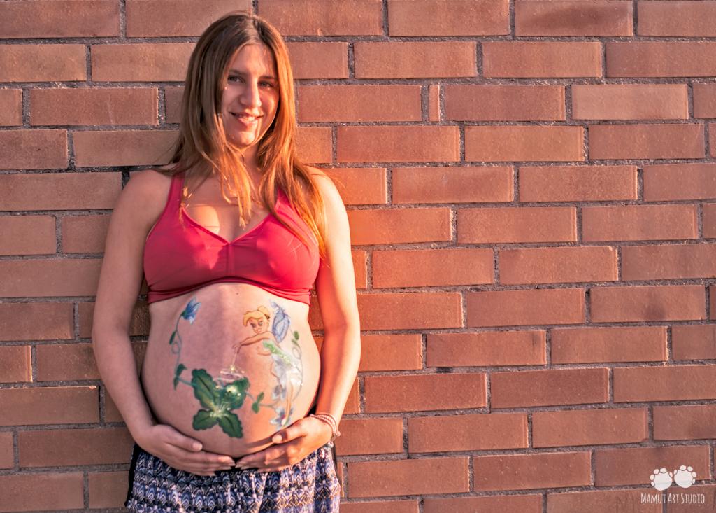 Fotografía embarazada