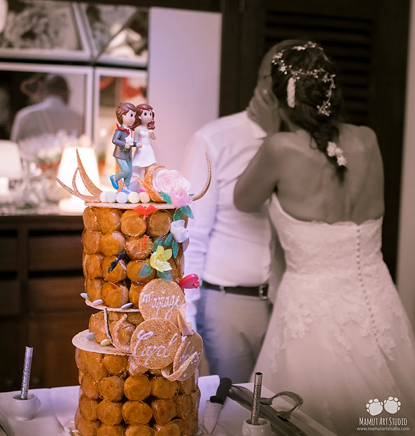 Pastel de boda croquembouche