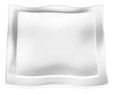 Wellenteller  22 x 22 cm