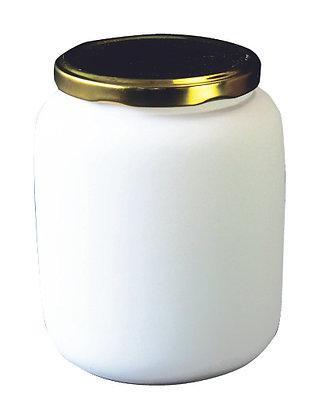 Marmeladenglas mit Metalldeckel