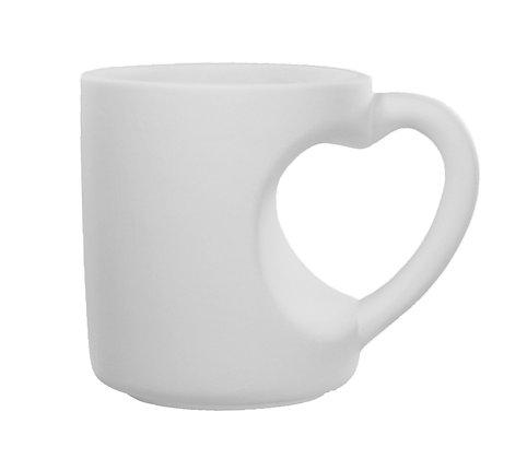 Herzhenkel Tasse