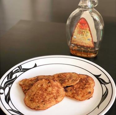 3-Ingredient, Gluten-Free Banana Pancakes
