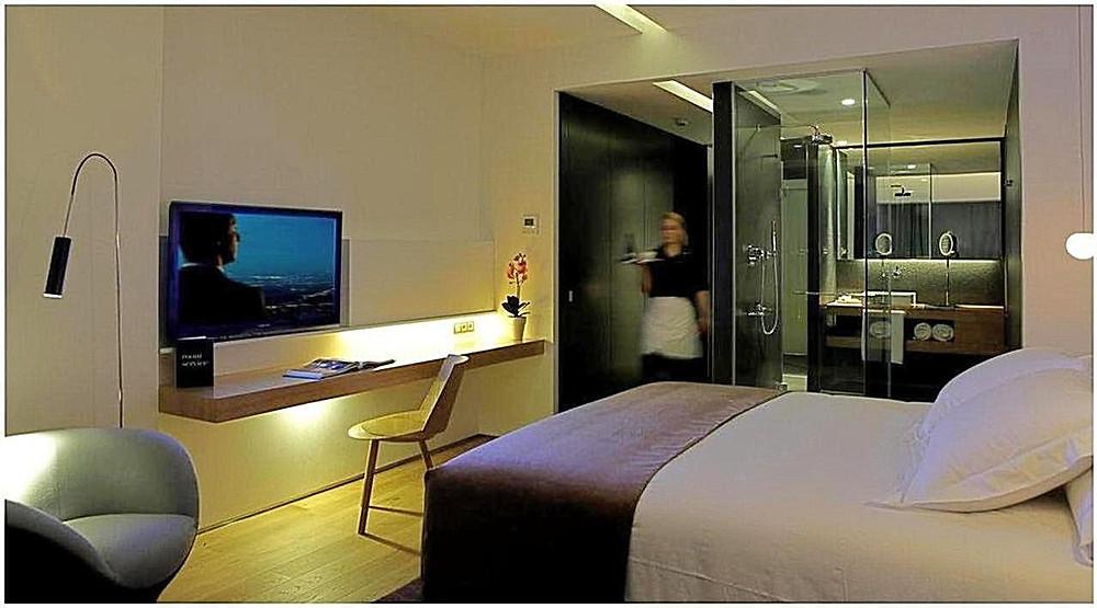 Standard room at Ohla Barcelona (photo courtesy of Ohla Barcelona)