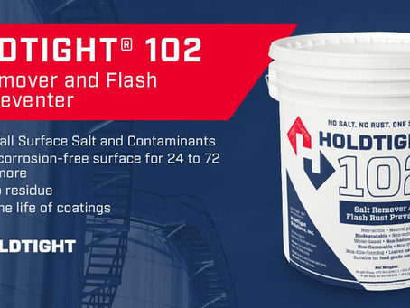 NO SALT. No RUST. Holdtight 102