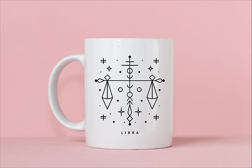 Libra Zodiac Mug
