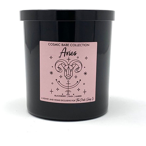 Aries - Cosmic Babe Zodiac Candle