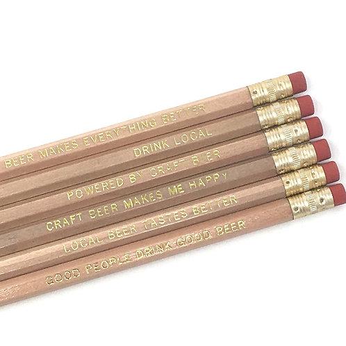 Beer Lovers Pencil Set