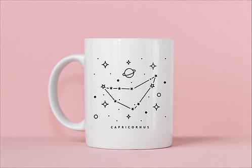 Capricorn Zodiac Constellation Mug