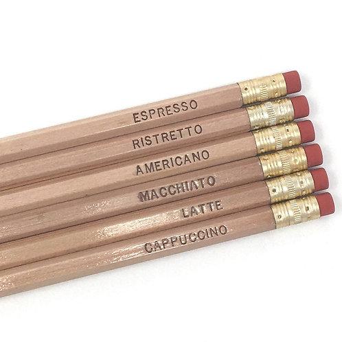 Espresso Yourself Pencil Set