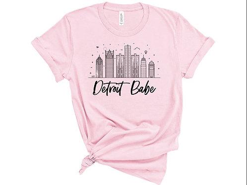 Detroit Babe T-Shirt