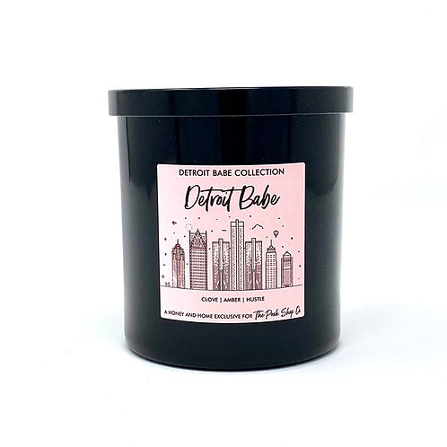 Detroit Babe Candle
