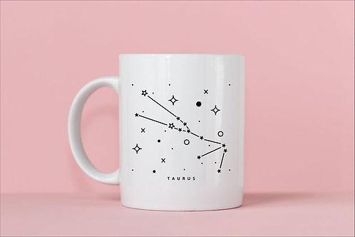 Taurus Zodiac Constellation Mug