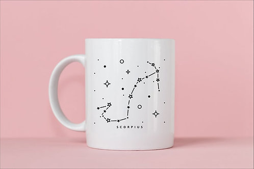 Scorpio Zodiac Constellation Mug