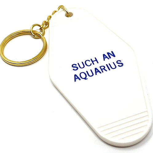 Such a Aquarius Zodiac Keychain - Cosmic Babe Collection