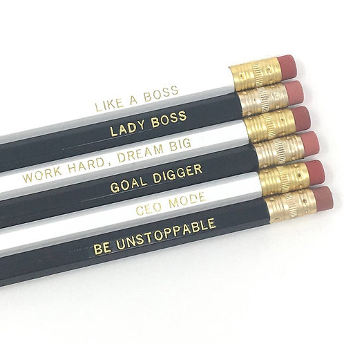 Lady Boss Pencil Set