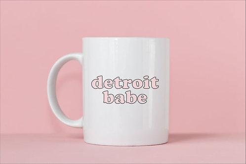 Detroit Babe Mug