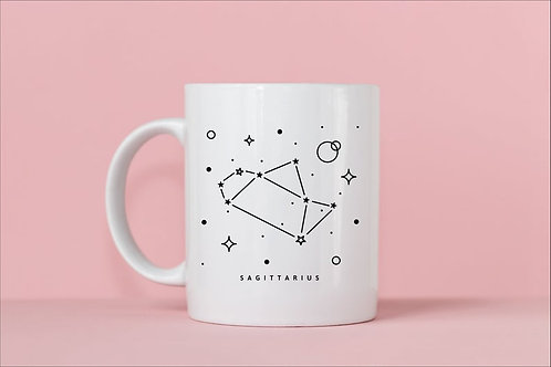 Sagittarius Zodiac Constellation Mug