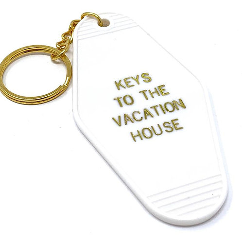 Keys to the Vacation House Keychain