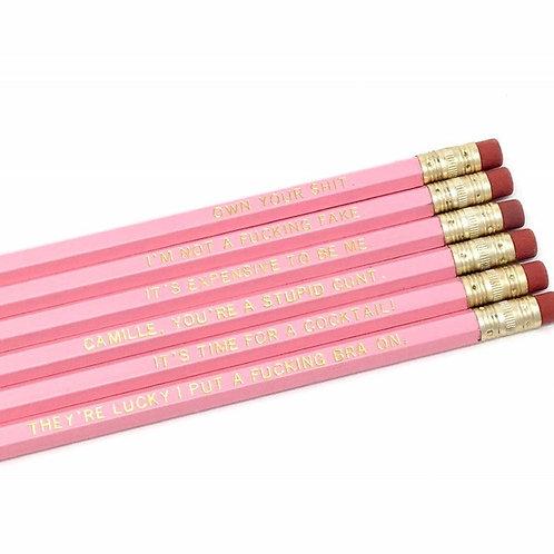 Own Your Shit Pencil Set