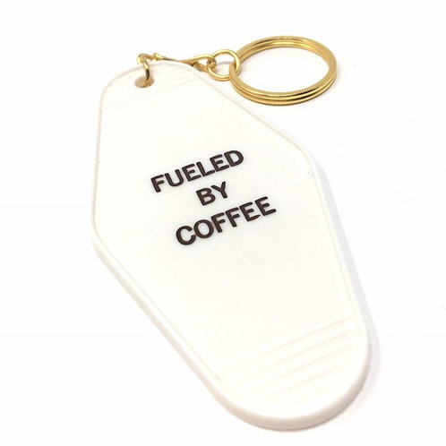 Fueled By Coffee Keychain