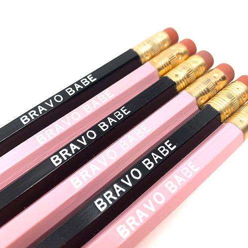 Bravo Babe Pencil Set