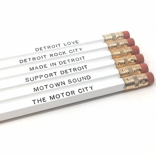 Detroit Pencil Set
