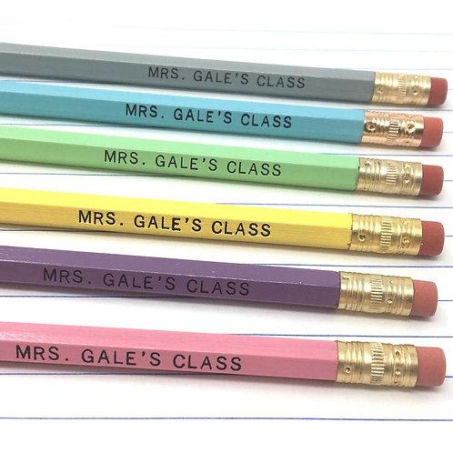 Teachers Class Pencil Set