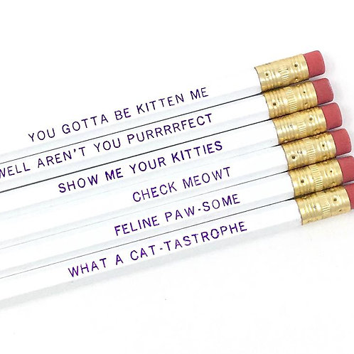 Cat Lover Pencil Set