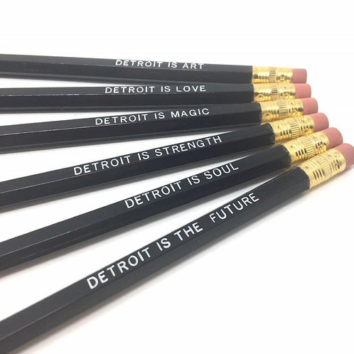 Detroit Is Pencil Set