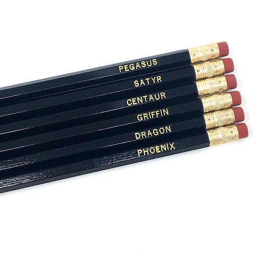 Mythical Creatures Pencil Set