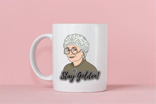 Sophia Stay Golden Mug