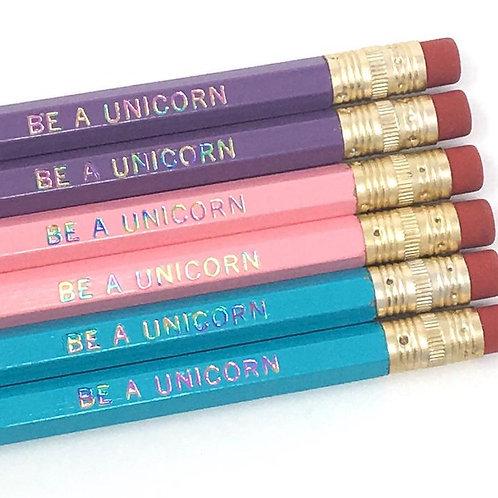 Be a Unicorn Pencil Set