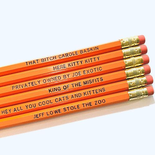 Here Kitty Kitty - Joe Exotic Pencil Set
