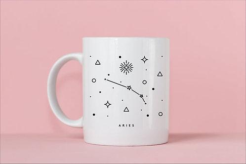 Aries Zodiac Constellation Mug