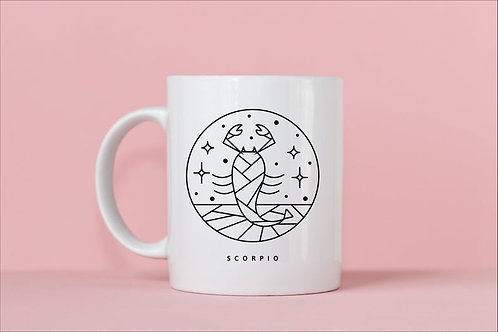 Scorpio Zodiac Mug