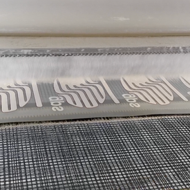 GPS Digital Screen-Printed Transfer - third print process as the backed up digital prints get coated in adhesive powder