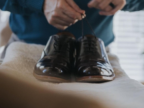 Economy to First-Class: Percy Stride Men's British Leather Footwear