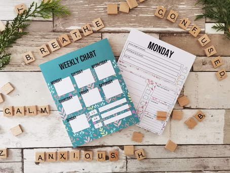 Anxiety be gone! - Conquer your daily anxiety with Discovery Journals new Anxiety Pad