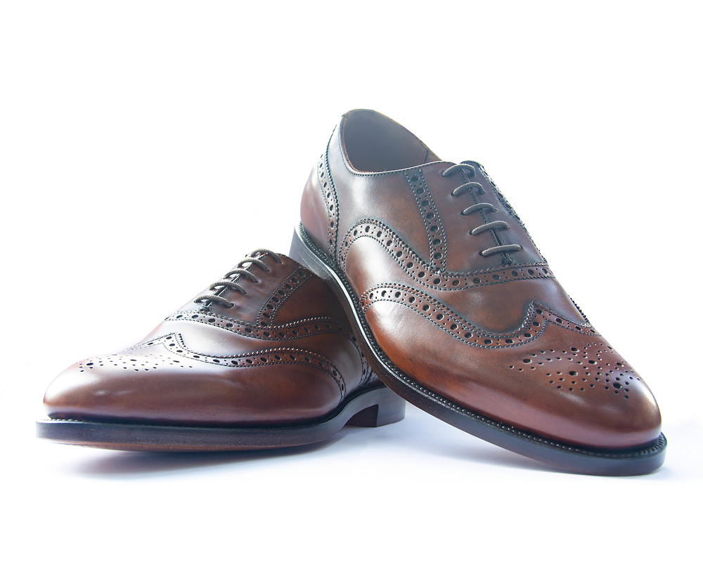 Men's Brown Brogue Shoes