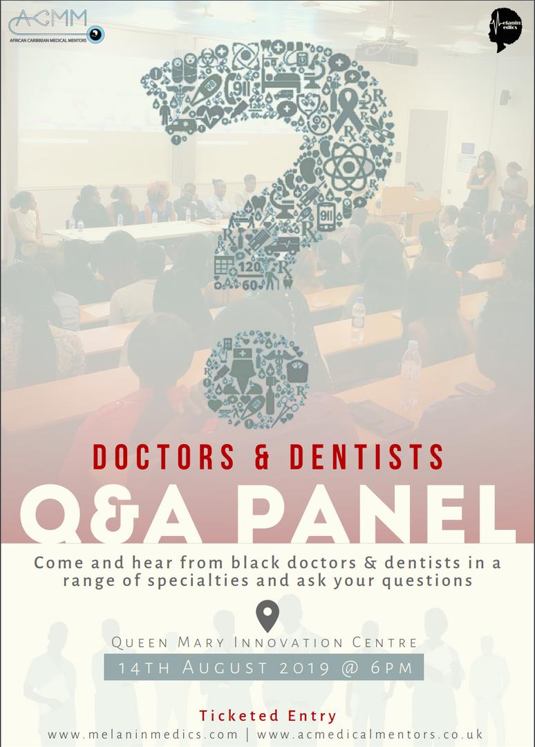 Doctors & Dentists Q&A Panel 2019