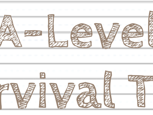 TOP 13 A-LEVEL SURVIVAL TIPS!