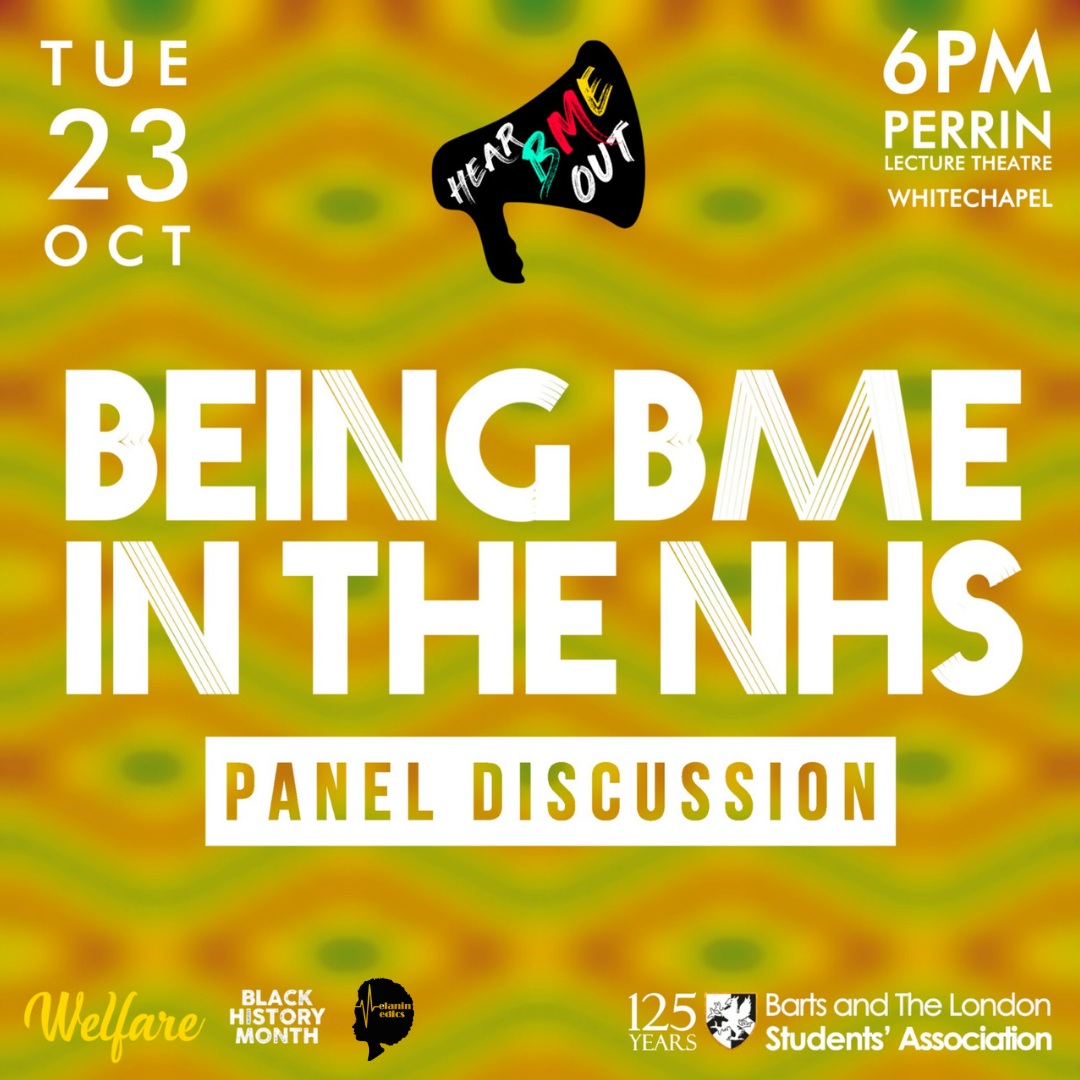 Being BME in the NHS